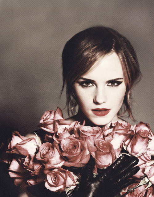 Emma Watson for Lancôme 'In Love'.