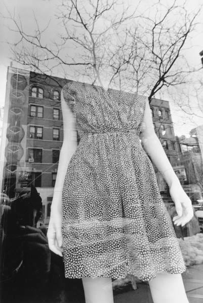 Lee Friedlander Mannequin New York City 2011  gelatin-silver print