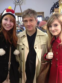 daysofstorm:  jims-little-live-in:  beanalot:  I MET MARTIN FREEMAN TODAY YOUR ARGUMENT IS INVALID.  I said to him I can't wait for The Hobbit and he said I REALLY HOPE YOU ENJOY IT.  HE ACTUALLY HOPED JOY ON ME. This was at a Christmas Market in the town by my uni by the way. Martin Freeman was at a Christmas market in early November.   HIS HAIR HIS HAIR  I don't think my martin freeman situation is going away anytime soon. good god.   Sorry, buuuuuut…