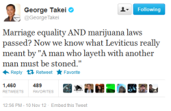 kinkynerdydiasporic:  GEORGE TAKEI WHY ARE YOU SO PERFECT