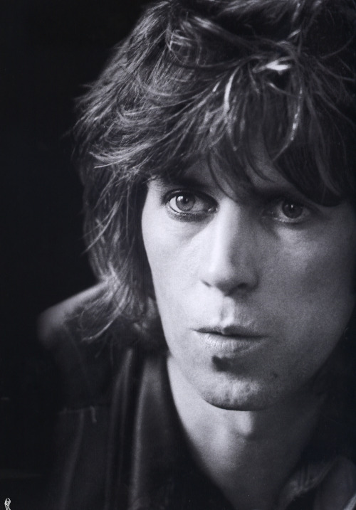 Keith Richards during an interview at London, 1974.