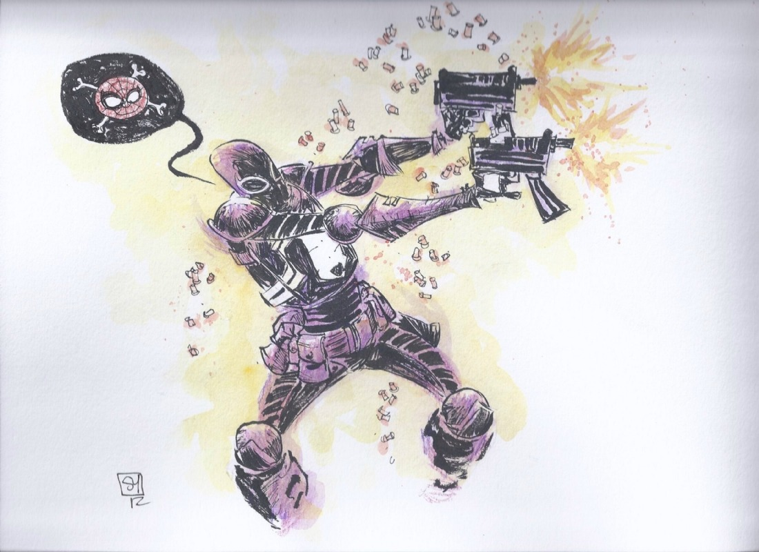 awyeahcomics:  Venom by Skottie Young