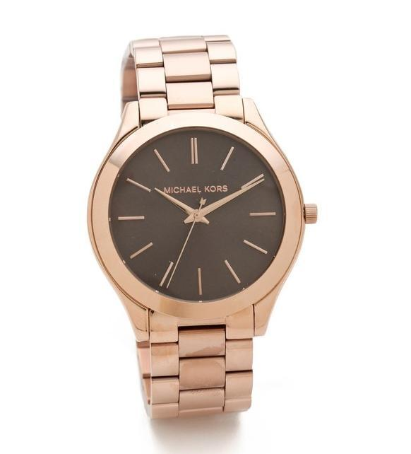 what-do-i-wear:  Michael Kors Slim Runway watch from Shopbop