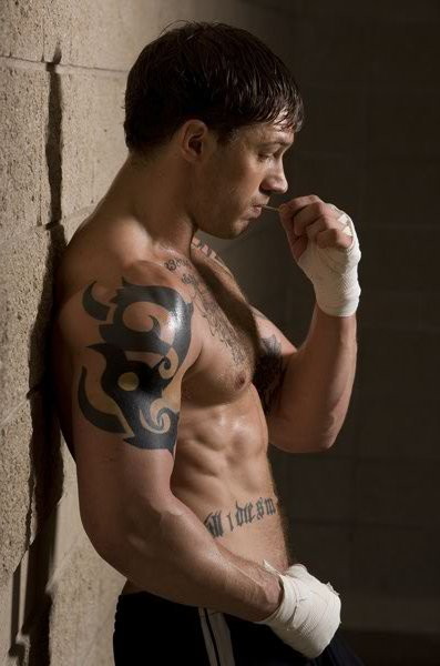 losing-every-extra-pound:  I can't help it. Tom Hardy is just amazing. Warrior was so good.