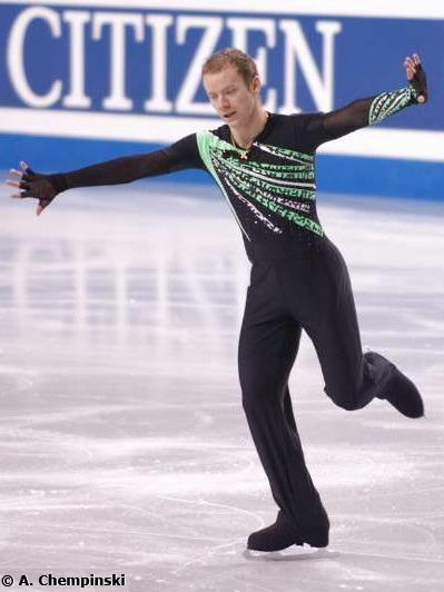 Ilia Klimkin's The Matrix costume at the 2006 World Championships.