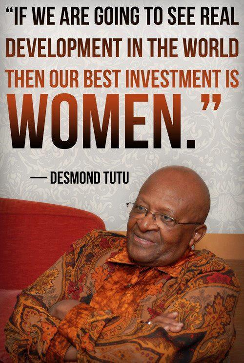 via The Institute for Women and Girls at Fordham.   Truth, Desmond.