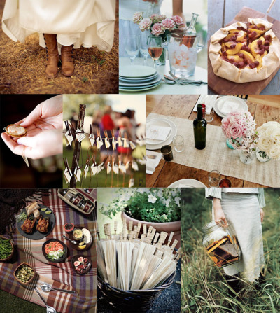 fortuitousaccident:  (via Inspiration Board #25: Picnic Wedding)