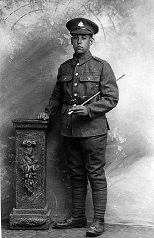 swissadam:  British soldier, First World War