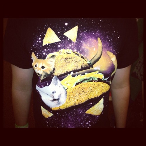 Cats on a taco tshirt? Uhhh yes please. (at Evangelical Free Church Of Gaylord)