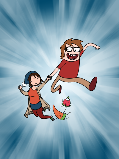 <p>Adventure Time with Svenja und Daniel</p>