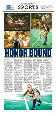Sports Feature by Sarah Hull/Staff