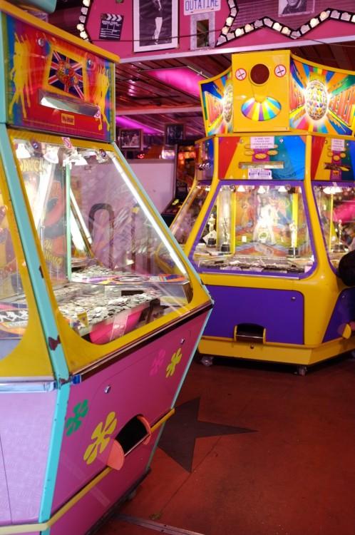 Penny arcade. Loughborough, November 2012.