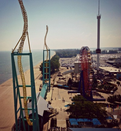 opalescent-dreams:  Cedar Point, Sandusky, OH