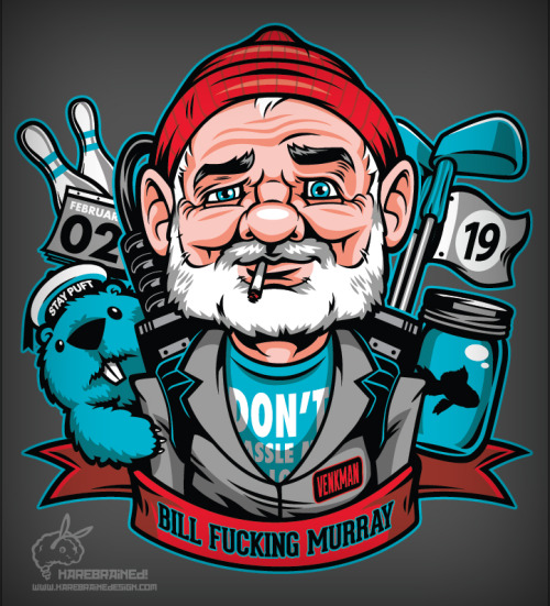 Bill Fucking Murray by Harebrained.