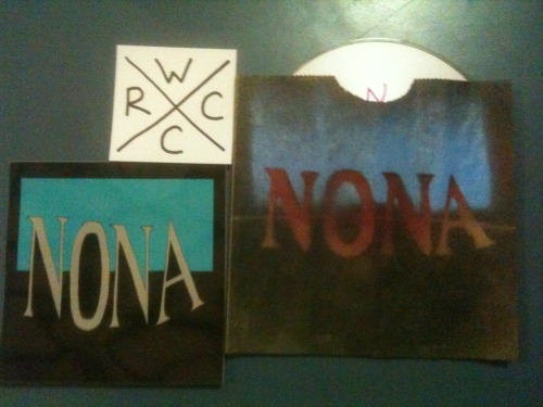 NONA demo 2012! free. two new songs, available at a punk show near you.