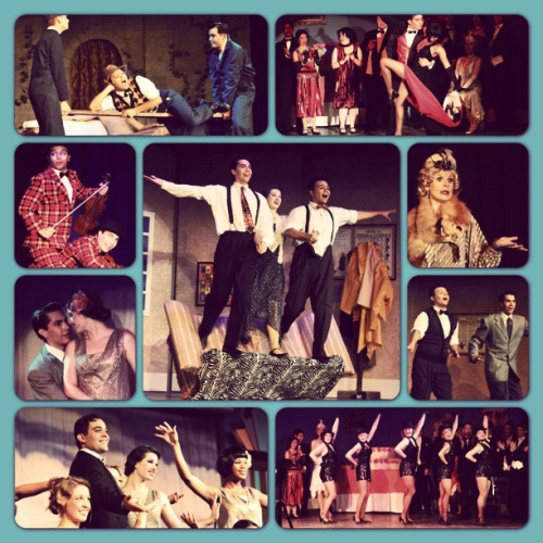 dominodecoco:  We close tomorrow. :(  Singin' in the Rain production in Tower District, Fresno CA. Who went? I'm not one watch local productions even though I make note to do so. >.< Some day…some day…
