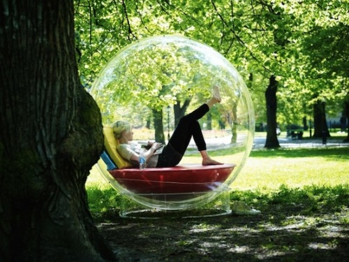 Cocoon 1 Modular Bubble by Micasa Lab via: decovry