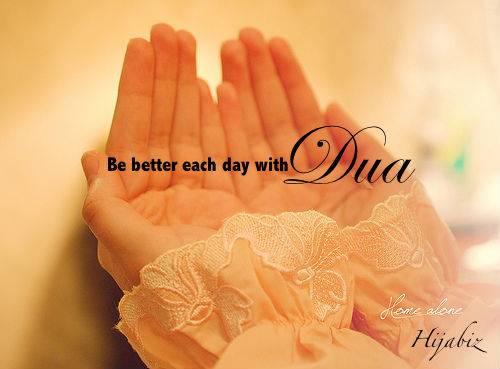 pencintabahagia:  pray and du'a :)