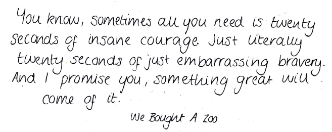 shy-nizzle:  my favourite quote ever.