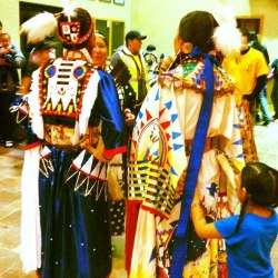 At Sisseton Wahpeton Oyate Veteran's Wacipi, Dakota Magic Casino, ND