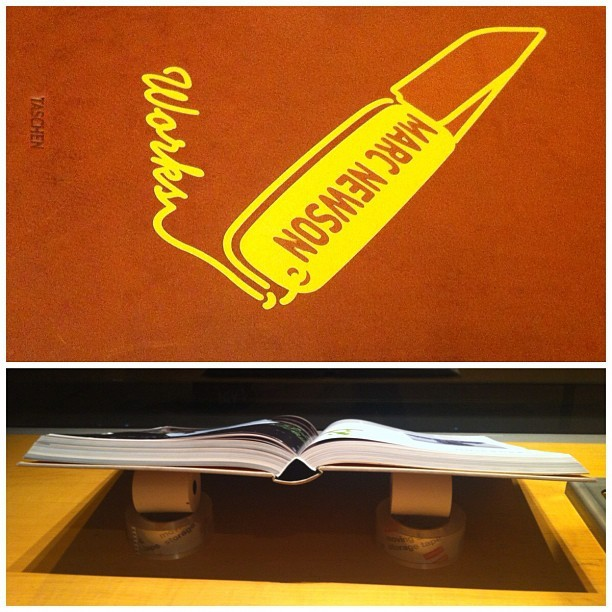 "Marc Newson, ""Works,"" book presentation at #Taschen (at Taschen)"