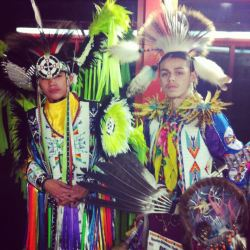 At the Sisseton Wahpeton Oyate Veteran's Wacipi, Dakota Magic Casino, ND