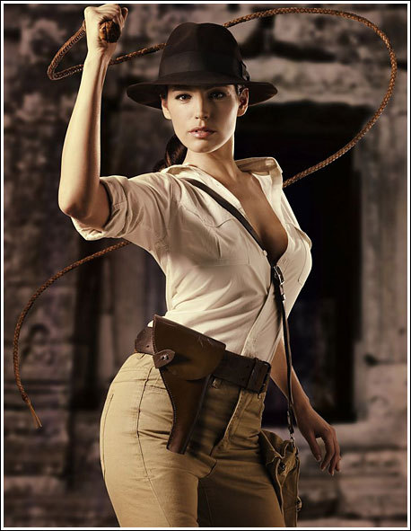 Rule 63  Indiana Jones never looked better..!