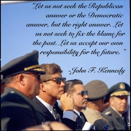 Beautifully said. #jfk #johnfkennedy #quote #legend #president #preppy #prep #massachusetts #politics #america #intelligent #democrat #republican #jackieo #jaquelinekennedy