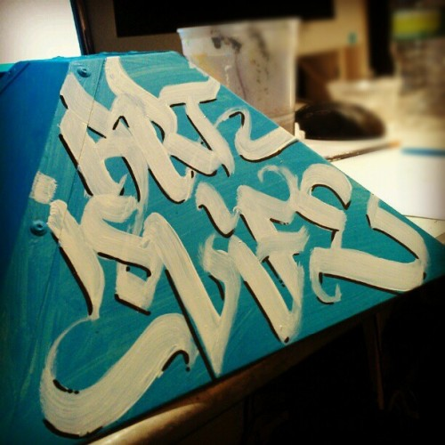 style-and-flow:  Art is life #calligraphy #graff #graffiti #art
