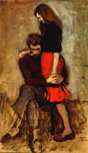 Does This Raphael Soyer Painting Depict Amy and Rory After the Latest Doctor Who Episode?