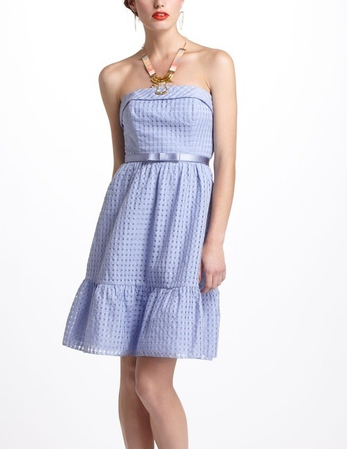 Dress like Quinn Fabray: catharina dress $49.95 (was $198) from Anthropologie (online only)