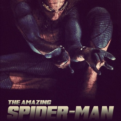 Saturday night #movie with @thinxtomuch #TheAmazingSpiderMan #SpiderMan #film #movie #superheroes #marvelcomics