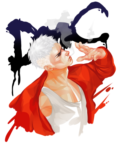 Just poopin' a Dante between commissions.
