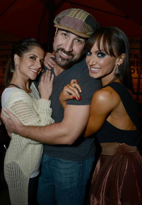 Kelly Monaco, Joey Fatone and Karina Smirnoff at the Mixology101 After Party (11/5)