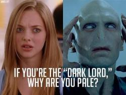 iloveharrypotter14:  You can't just ask people why they're pale!  God karen, your so stupid!