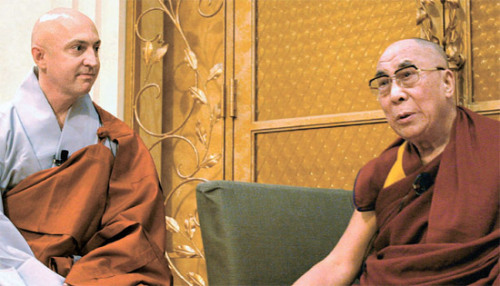 Meeting with His Holiness, the Dalai Lama, Yokohama, Japan, November 5, 2012….  We had a wonderful conversation on a wide range of issues.  The video should be posted soon.