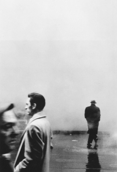 Three Men, New York (1961), photographed by Steve Schapiro.