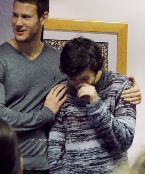 colingasm:  Alexander Vlahos & Tom Hopper at Cold Con on November 3rd, 2012 [pictures taken by me]