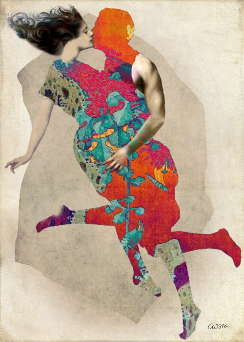 art-and-fury:  Love is a Tango - Catrin Welz-Stein