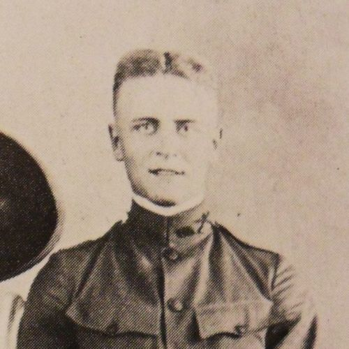 F Scott Fitzgerald in the army [X]