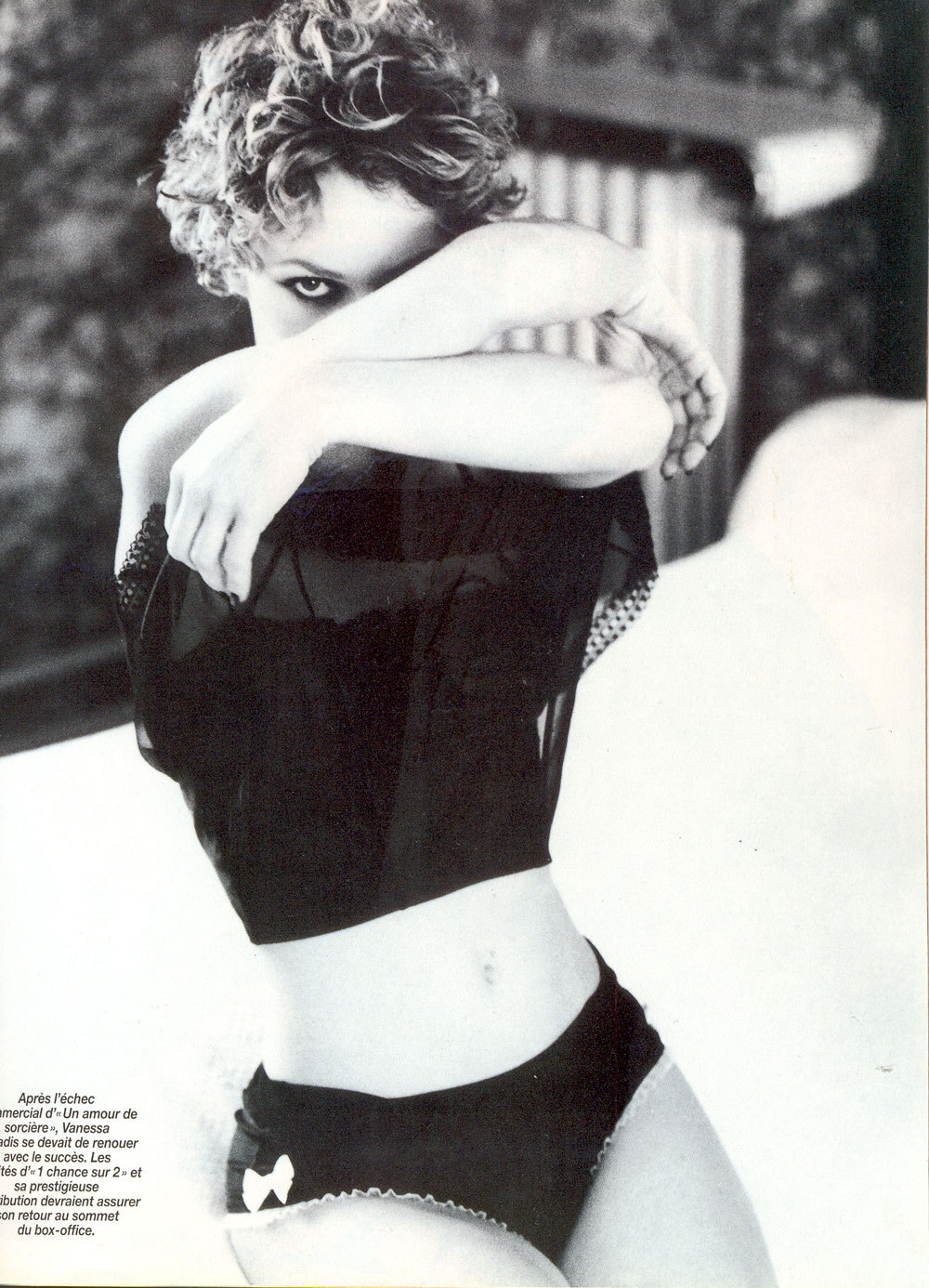 Venessa Paradis / Ellen Von Unwerth / Paris Match March 1998
