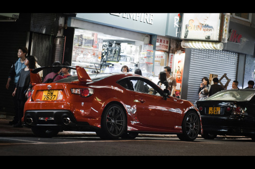 Toyota GT86 spotted somewhere in the street of Hong Kong, China [photo credit: rupert procter]