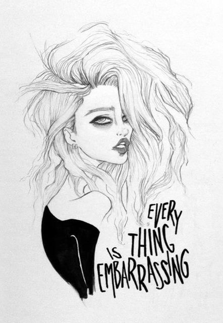 skylamereferreira:  @MJonathan Drawing I did of @skyferreira #everythingisembarrassing