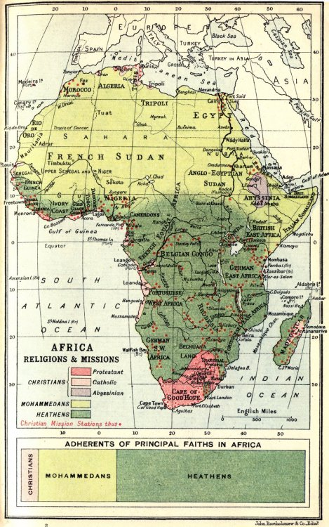 time-for-maps:  Map of Colonial Africa in 1913.  Well, things certainly have changed in the past 100 years. I'm still a heathen, though.