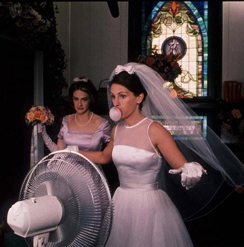 365 Days of Film201. Runaway Bride What a fabulous movie for a Saturday night alone! I totally related to Maggie, Julia Roberts was awesome with a magnetic personality. Starting to really appreciate Garry Marshall films.  Look, I guarantee there'll be tough times. I guarantee that at some point, one or both of us is gonna want to get out of this thing. But I also guarantee that if I don't ask you to be mine, I'll regret it for the rest of my life, because I know, in my heart, you're the only one for me.