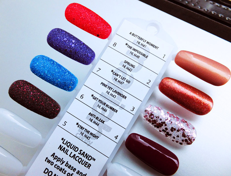 "Upcoming OPI Mariah Carey collection. Featuring the new matte ""liquid sand"". From http://3.bp.blogspot.com/-Qjr3_8Q5m78/UH3xIrgvCbI/AAAAAAAAAlE/Ft5GqoenwYA/s1600/Mariah-Carey-by-OPI-collection-nail-polish-shades.jpg"