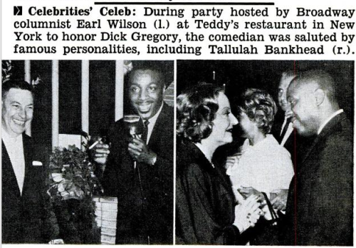 A DICK GREGORY PARTY