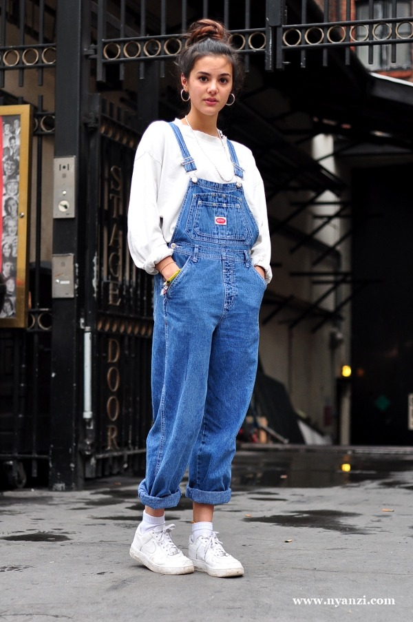 avenue:  overalls in denim!