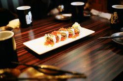 rendermebreathless:  おいしい SUSHI ROLLS by gainsbourg × yebisu on Flickr.