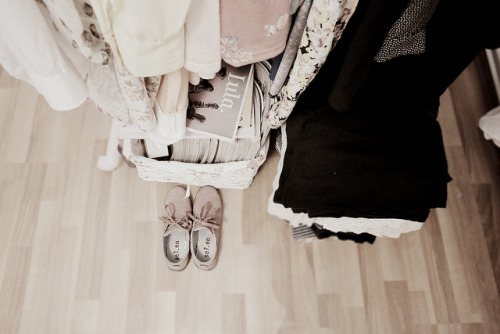 sweetheaartxo:  the story of a tiny pair of shoes. by Raluca Marie Wolfski on Flickr.